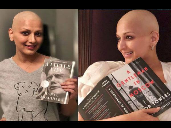 कैंसर के इलाज से सोनाली बेंद्रे को रही है ये गंभीर समस्या, सोशल मीडिया पर किया साझा