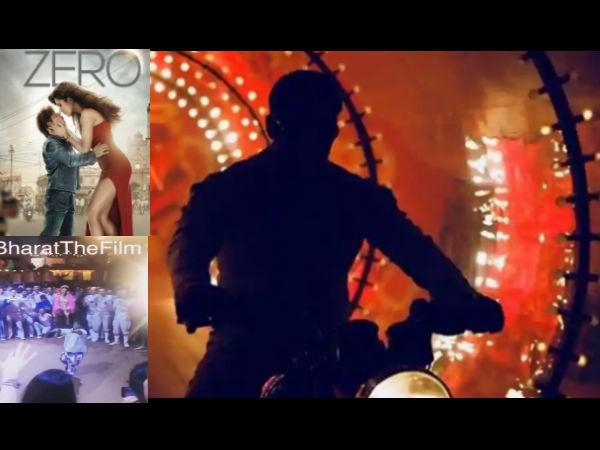 भारत के शूटिंग सेट से सामने आया शानदार Video, शाहरुख की जीरो का धमाकेदार प्रमोशन