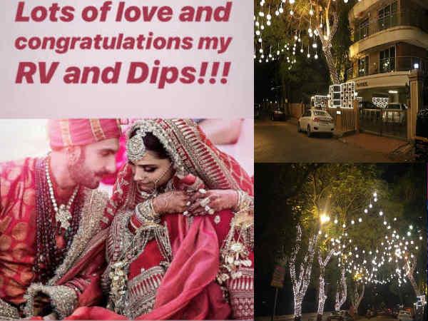 नई दुल्हन के इंतजार में सजा रणवीर सिंह का बंगला, ऐसा है दीपिका की ससुराल का नजारा