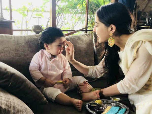 बड़ी बहन सारा अली खान को इस नाम से पुकारते हैं तैमूर, सुनकर हंस पड़ेंगें आप