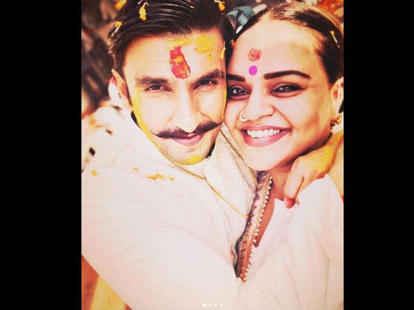 दूल्हे रणवीर सिंह की हल्दी वाली Pics, शादी के बाद हो रही वायरल, बेहद क्यूट