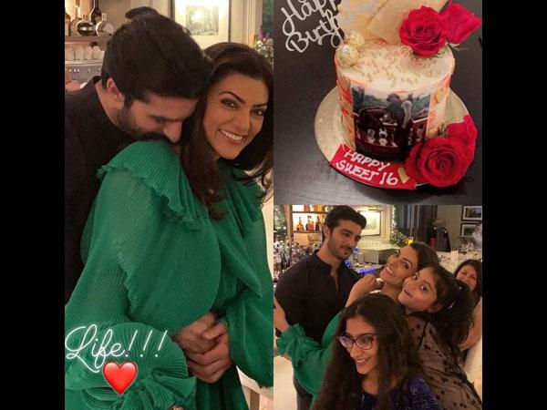 ब्वॉयफ्रेंड और फैमिली के साथ सुष्मिता सेन ने मनाया 43वां जन्मदिन, देखिए शानदार Pics