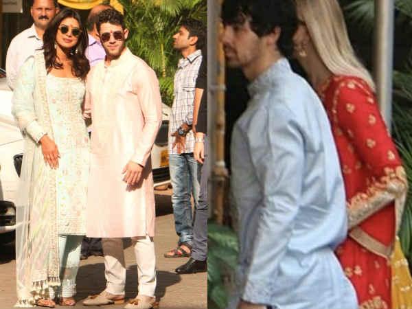 [Pics: प्रियंका चोपड़ा की जेठानी सोफी टर्नर ने शादी की रस्मों में छीना लाइमलाइट]