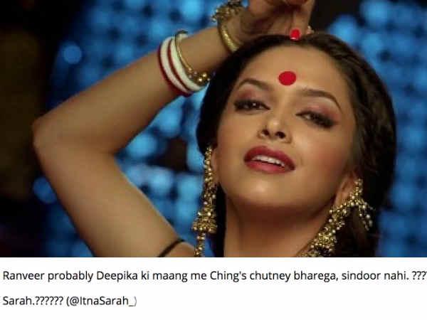 दीपिका की मांग में एक चुटकी सिंदूर नहीं, चिंग्स चटनी भरेंगे रणवीर, वायरल हुए #DeepVeerWedding Jokes