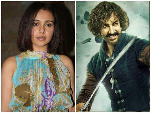 ठग्स ऑफ हिंदुस्तान का उड़ाया मजाक- एक्ट्रेस ने कहा, आमिर खान ने फिल्म साइन कैसे की!