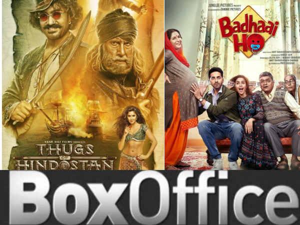 BOX OFFICE: बधाई हो Vs ठग्स ऑफ हिंदुस्तान, एक जैसी कमाई, एक महाफ्लॉप, एक ब्लॉकबस्टर