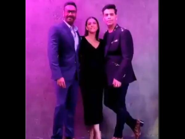 अजय देवगन, काजोल और करण जौहर- आखिर एक साथ आ ही गए तीन सुपरस्टार्स