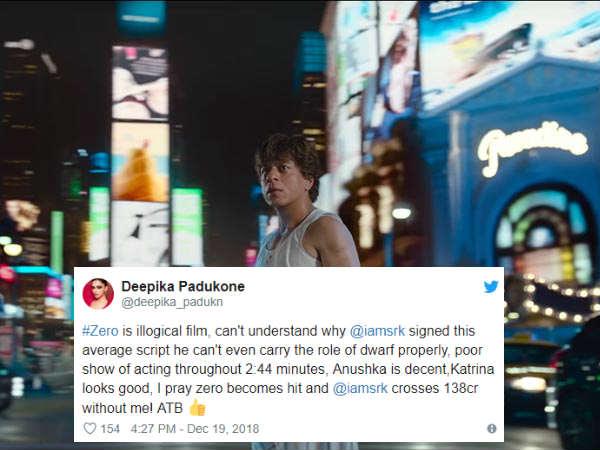 दीपिका पादुकोण, वरूण धवन ने की शाहरुख की बुराई- सबसे बेकार फिल्म!