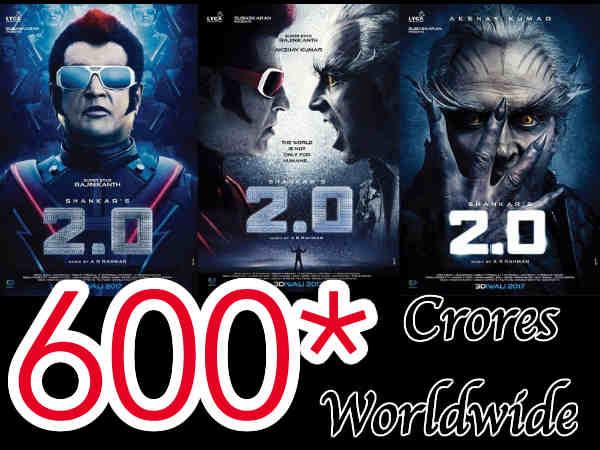 2.0 Worldwide: 600 करोड़ क्लब में हुई अक्षय कुमार की एंट्री, 2018 की बॉक्स ऑफिस नंबर 1