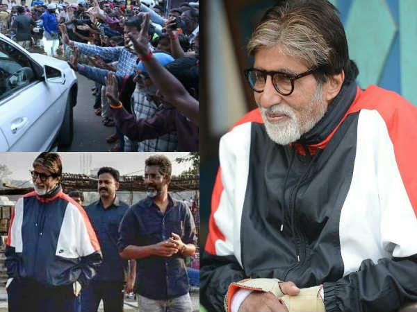 झुंड की शूटिंग के लिए नागपुर पहुंचे अमिताभ बच्चन, वायरल हुईं तस्वीरें