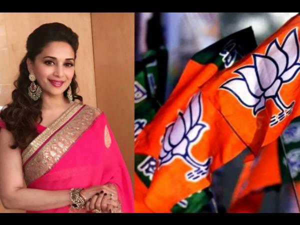 2019 में पुणे से इस पार्टी के लिए लोकसभा चुनाव लड़ेंगी धक धक गर्ल माधुरी दीक्षित ?