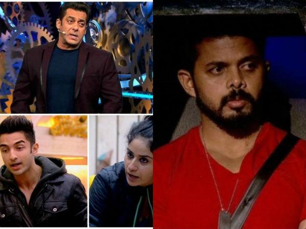 Bigg Boss 12 weekend ka vaar live: सुरभि-रोहित पर भड़के सलमान , रोने लगे श्रीसंत