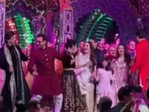 ईशा अंबानी का संगीत: साथ नाचे शाहरूख - आमिर - ऐश्वर्या, बैकग्राउंड डांसर बने सलमान, वायरल हुए वीडियो