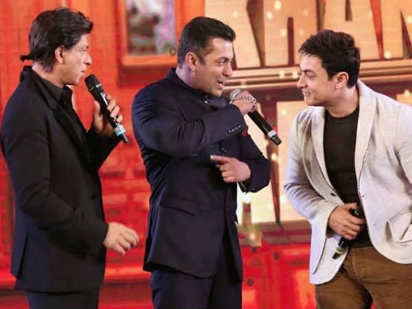 'मैं, सलमान और आमिर खान कभी आपस में फिल्मों की बातें नहीं करते हैं'