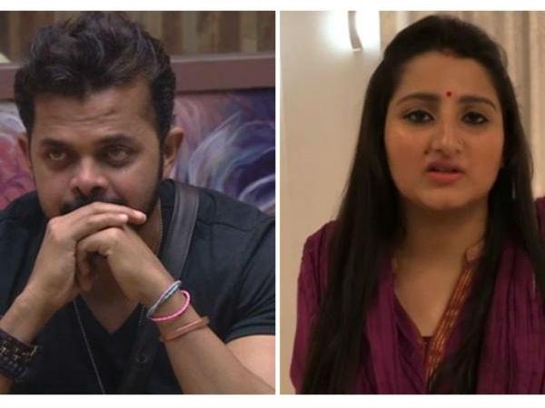 Bigg Boss 12 श्रीसंत की पत्नी ने सुरभि राणा की जमकर लगाई क्लास, Video होश उड़ा देगा