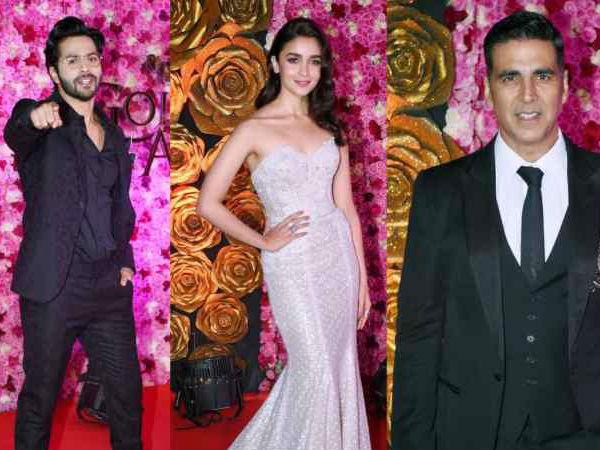 Lux Golden Rose Awards 2018 : वरुण और अक्षय कुमार ने बाथ टब में की ऐसी हरकत Video वायरल