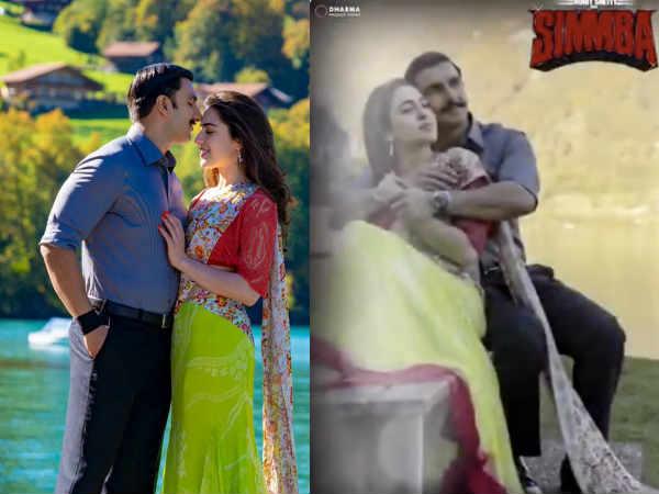 तेरे बिन: रणवीर सिंह और सारा अली खान का ये सिंबा रोमांस आपका दिन बना देगा