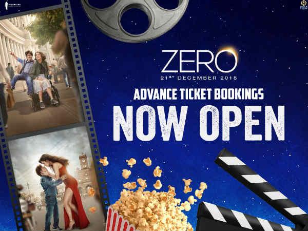 शुरू हुई शाहरूख खान की फिल्म ज़ीरो का एडवांस बुकिंग, आपने टिकट कराया?