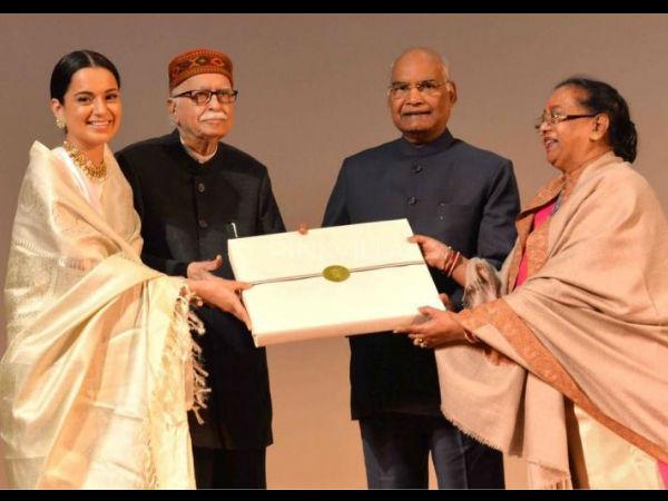 राष्ट्रपति रामनाथ कोविंद ने देखी कंगना की फिल्म मणिकर्णिका, फिर किया ये बड़ा काम