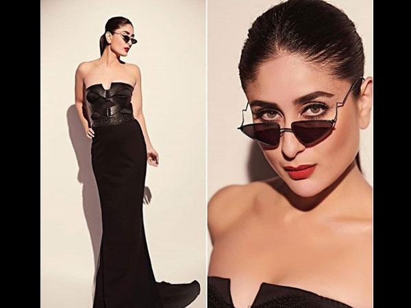 PICS: ब्लैक ड्रेस में करीना कपूर खान का सेक्सी और बोल्ड अंदाज- देखते रह जाएंगे