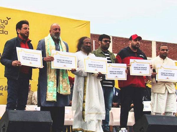 ड्रग फ्री इंडिया- संजय दत्त, कपिल शर्मा और बादशाह पहुंचे- पिता को याद कर भावुक हो गए संजू