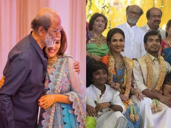 रजनीकांत की बेटी सौंदर्या ने की दूसरी शादी, विशगन वंगामुड़ी को बनाया हमसफर- PICS