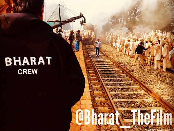 BHARAT: ऐसे हो रही है भारत की शूटिंग- सेट से सामने आई सलमान खान धमाकेदार तस्वीर