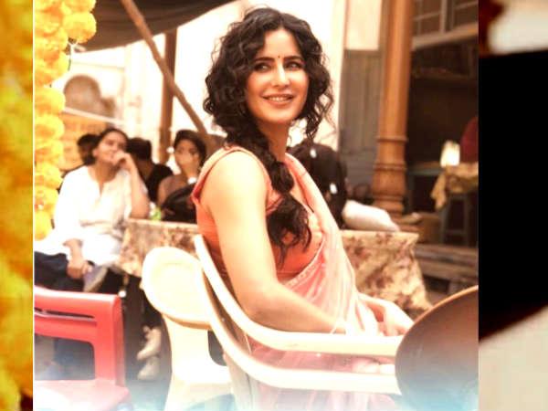 सलमान खान की 'भारत' से कैटरीना कैफ का जबरदस्त LOOK- बेइंतहा खूबसूरत