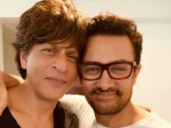शाहरुख ने आमिर को दिया लैपटॉप- जानें आमिर ने क्या किया हाल- मजेदार VIDEO