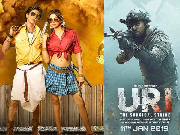 उरी बॉक्स ऑफिस: शाहरूख खान के करियर की सबसे बड़ी फिल्म को भी मिली धोबीपछाड़