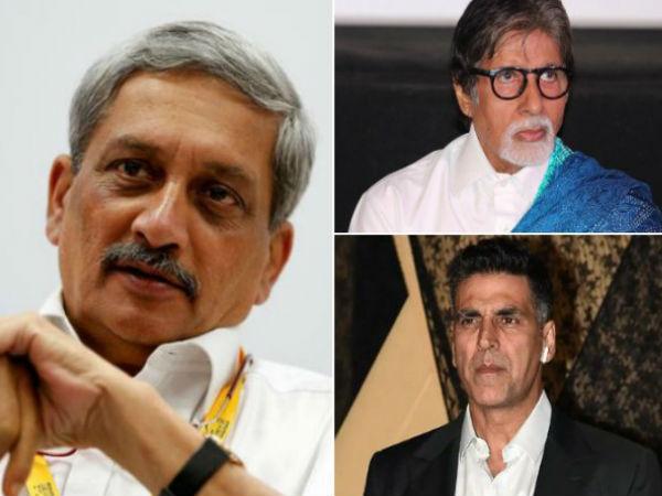 गोवा के सीएम मनोहर पार्रिकर का निधन- सदमें में Bollywood- स्टार्स ने ऐसे दी श्रद्धांजलि