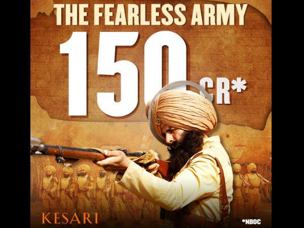 BOX OFFICE: 150 करोड़ पार अक्षय कुमार की 'केसरी'- सबसे ज्यादा कमाने वाली फिल्म