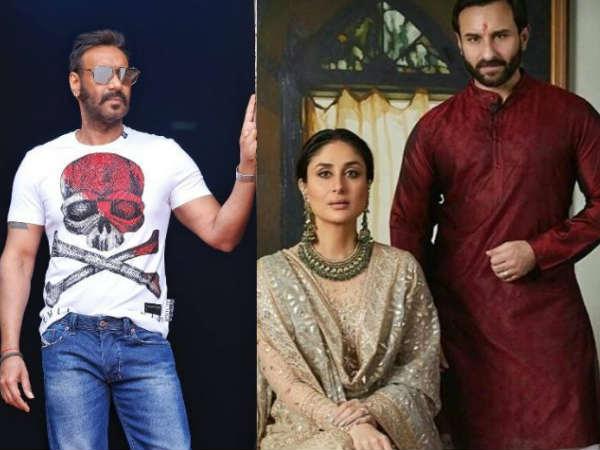 अजय देवगन ने 'दे दे प्यार दे' मे उड़ाया सैफ और करीना की उम्र का मजाक- सैफ ने दिया ये जवाब