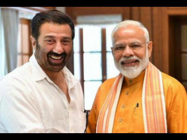 सनी देओल के साथ प्रधानमंत्री नरेन्द्र मोदी- कहा, हिंदुस्तान जिंदाबाद था, है और रहेगा