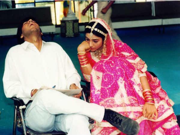जब तबू से बोर होकर फिल्म सेट पर सो गए थे अजय देवगन- देंखे ये मजेदार तस्वीर