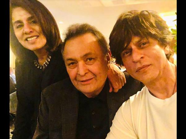 अब ऋषि कपूर से मिलने न्यूयॉर्क पहुंचे शाहरुख खान- इन सुपरस्टार्स ने भी की है मुलाकात