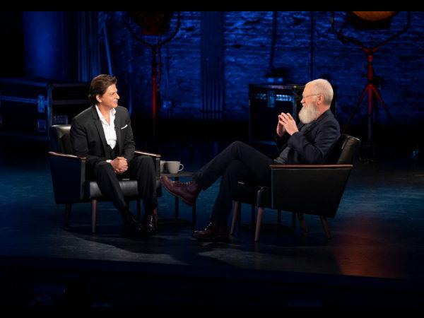 शाहरुख खान ने डेविड लेटरमैन के शो में दर्ज की अपनी उपस्थिति- सामने आई तस्वीरें