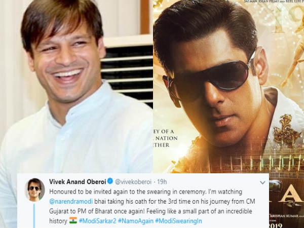 अनजाने में विवेक ओबरॉय ने कर दिया सलमान खान की भारत का प्रमोशन- हो गए बुरी तरह से ट्रोल