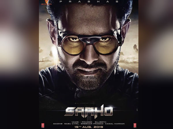 Saaho- रिलीज हुआ साहो से प्रभास का दमदार पोस्टर- इस दिन Release होगी फिल्म