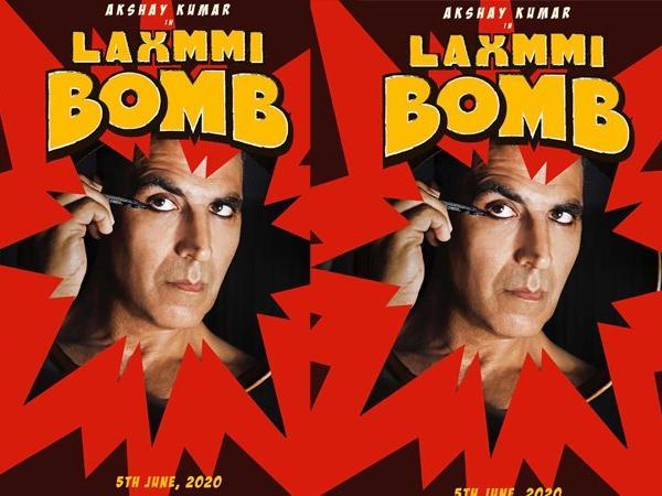 अक्षय कुमार की ब्लॅाकबस्टर फिल्म Laxmmi Bomb का पहला लुक, 2020 में धमाका