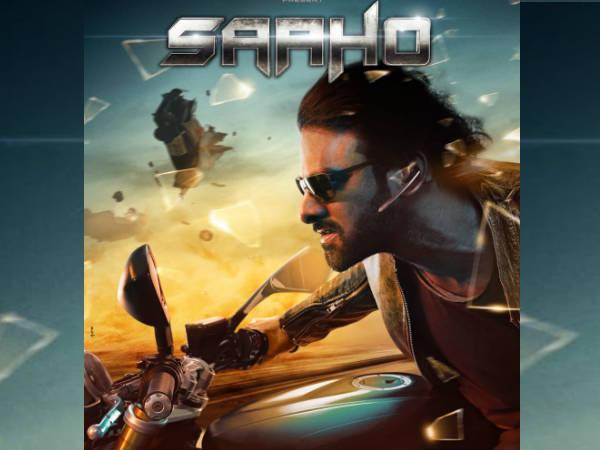 'साहो' का नया पोस्टर रिलीज- फुल एक्शन अवतार में दिखे बाहुबली स्टार प्रभास