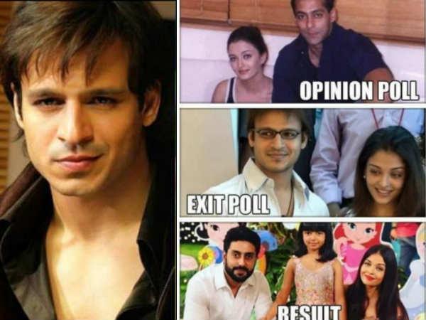 Exit Poll के बहाने- विवेक ओबेरॉय ने सलमान खान, ऐश्वर्या राय पर साधा खतरनाक निशाना