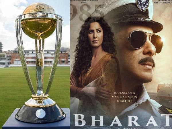 सलमान खान VS क्रिकेट विश्व कप- 'भारत' की ओपनिंग के दिन होगा भारत का पहला मैच