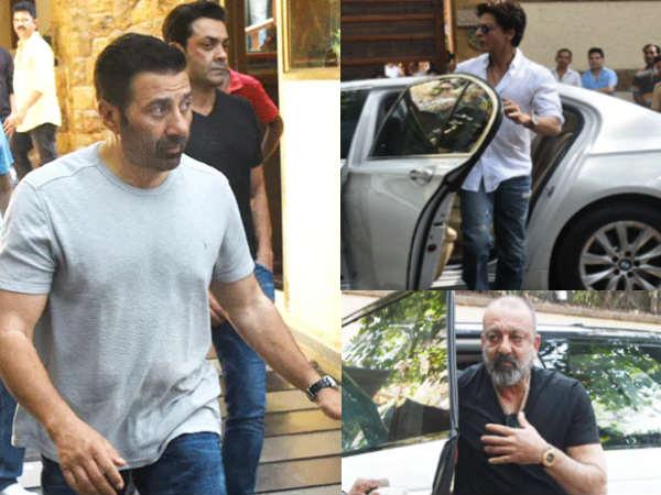 वीरू देवगन को श्रद्घांजलि देने पहुंचे- सनी देओल, शाहरुख खान समेत ये सितारे- PICS