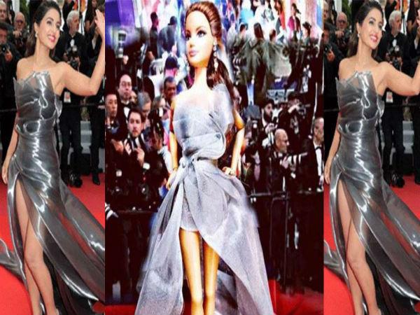 कान्स लुक में हिना खान की डॅाल पहुंची मार्केट, देखने के लिए लगी लोगों की लाइन Viral