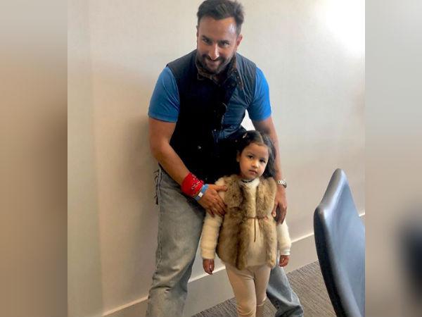 सैफ अली खान के साथ जीवा धोनी की इस तस्वीर से नहीं हटेगी आपकी नजर- वायरल
