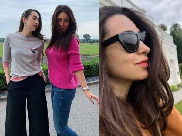 करिश्मा कपूर का 45वां जन्मदिन- लंदन से  करीना कपूर और मां बबिता के साथ वायरल हुईं Pics