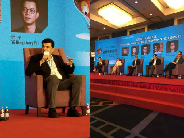 सिद्धार्थ रॉय कपूर संघाई इंटरनेशनल फिल्म फेस्टिवल में कर रहें हैं भारत का प्रतिनिधित्व