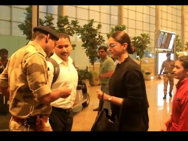 एयरपोर्ट सेक्यूरिटी ने दीपिका पादुकोण से मांगा ID- एक्ट्रेस का रिएक्शन हो रहा है वायरल- VIDEO