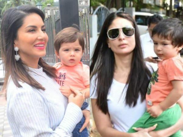 तैमूर से अपने बेटे नोआ की तुलना करने पर ये क्या बोल गईं Sunny Leone